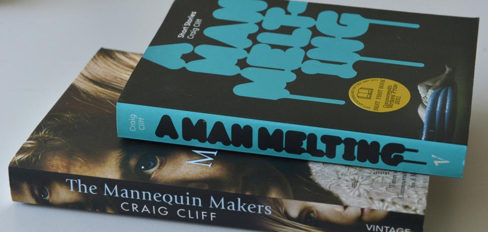 Craig Cliff's first two novels, A Man Melting: short stories and The Mannequin Maker.