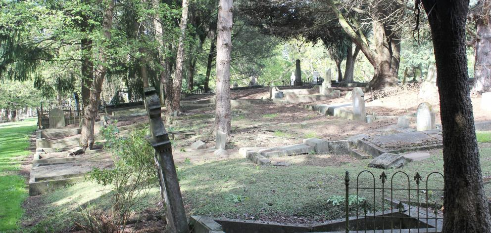 Several bodies, including that of executed murderer Charles Clements, are buried in unmarked graves in free ground in Southern Cemetery. Photo: Bruce Munro