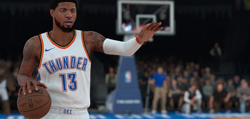 The gap has closed — and could keep closing the next couple of years. But for now, NBA 2K18 remains king of the court. Photo: Supplied