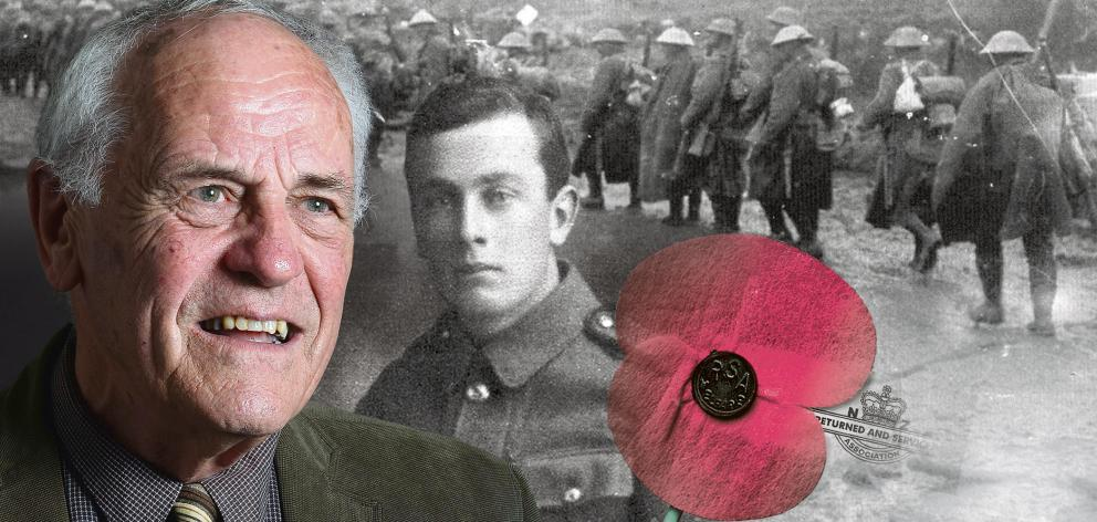 Donald Phillipps recalls his father Jack's narrow escape during the Battle of Passchendaele....