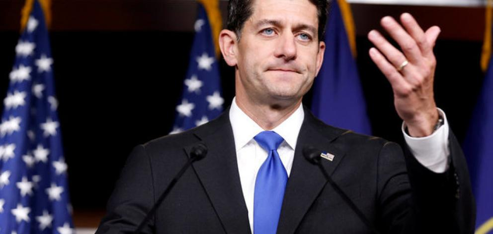 "House of Representatives Speaker Paul Ryan, a Republican, said in a statement on Monday: ""The whole country stands united in our shock, in our condolences and in our prayers."" Photo: Reuters"