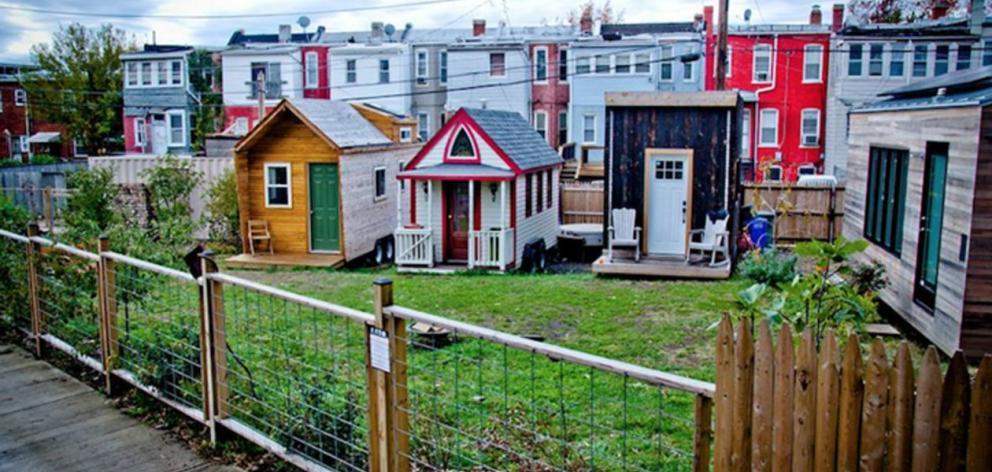tiny house washington dc. A Demonstration Tiny House Village In Washington, DC. Photo: Supplied Washington Dc