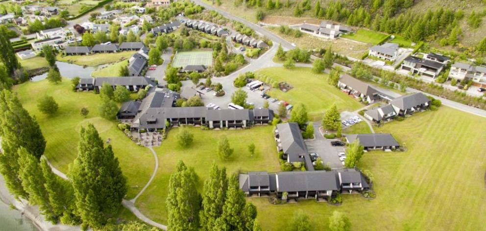 Wanaka's Edgewater (left) has won the Hospitality New Zealand best hotel award for 2017. PHOTO:...