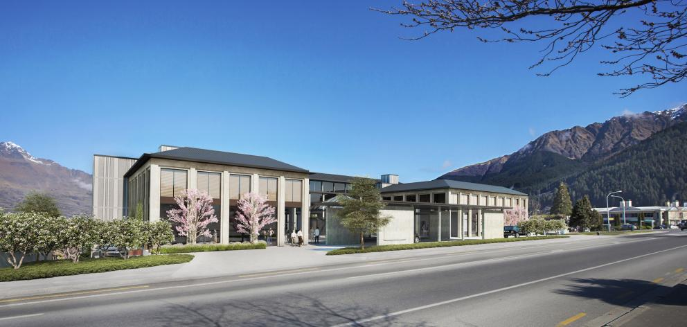 An artist's impression of a new Frankton Rd hotel. Image: Supplied