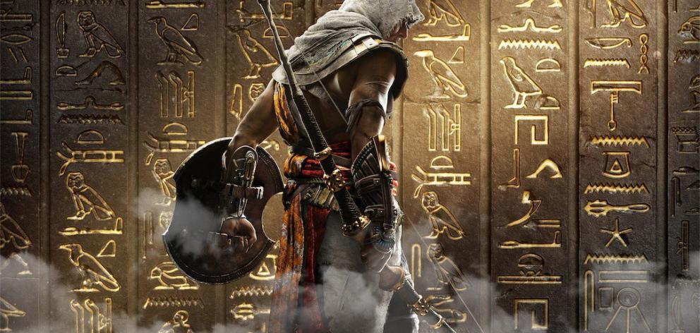 Assassins Creed Origins is set in ancient Egyptian times; one of the most fan requested locales. Photo: Supplied
