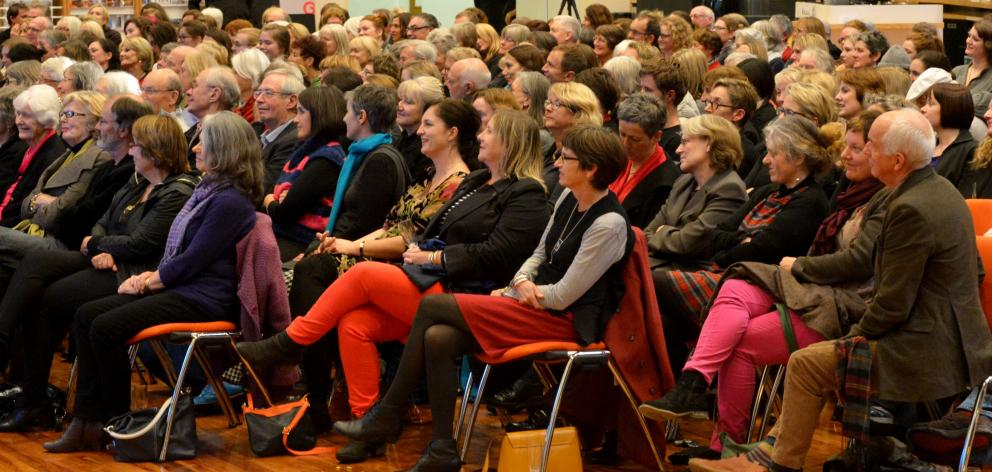 A spellbound audience wishes they could have put it like that at Eleanor Catton's reading at the...