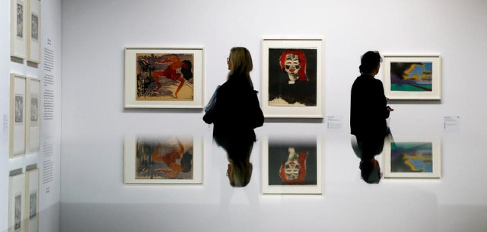 Its exhibition 'Degenerate Art - Confiscated and Sold' is composed mainly of drawings, lithographs and paintings confiscated by the Nazis from museums. Photo: Reuters