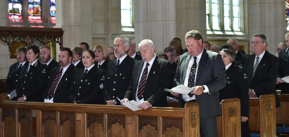The National Investiture Ceremony in Dunedin. PHOTO: PETER MCINTOSH