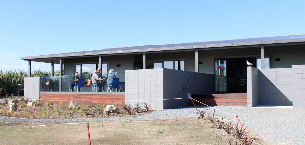 The outside of the recently opened Tumu Toka Curioscape at the Curio Bay Heritage Centre. PHOTO:...