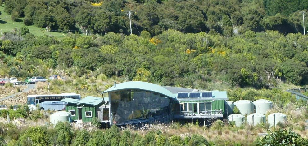 Question 1: The Visitor Centre, opened in 2009, is the starting point for all visits to Orokonui...