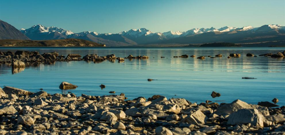 A low snowpack will affect Meridian Energy's ability to generate from Lake Pukaki. Photo: Getty