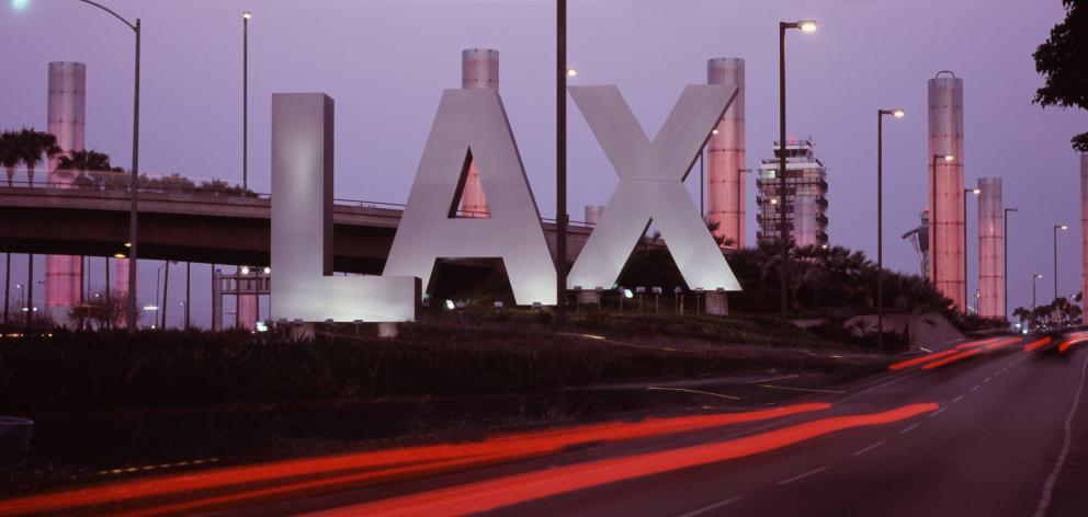 The teenager was stopped at  Los Angeles International Airport. Photo: Getty