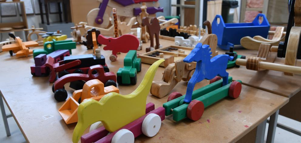 Prisoners spent five weeks making more than 120 wooden toys for needy children this Christmas....