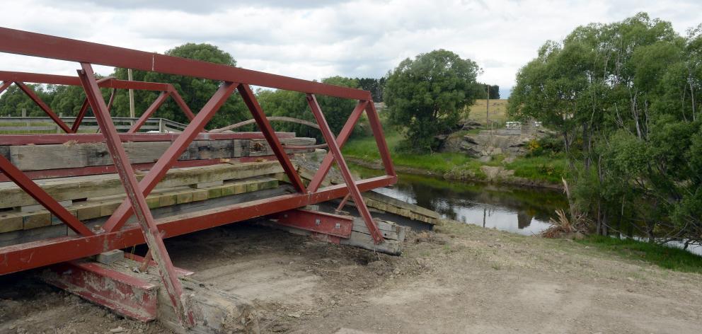 The Sutton bridge. Photo: ODT