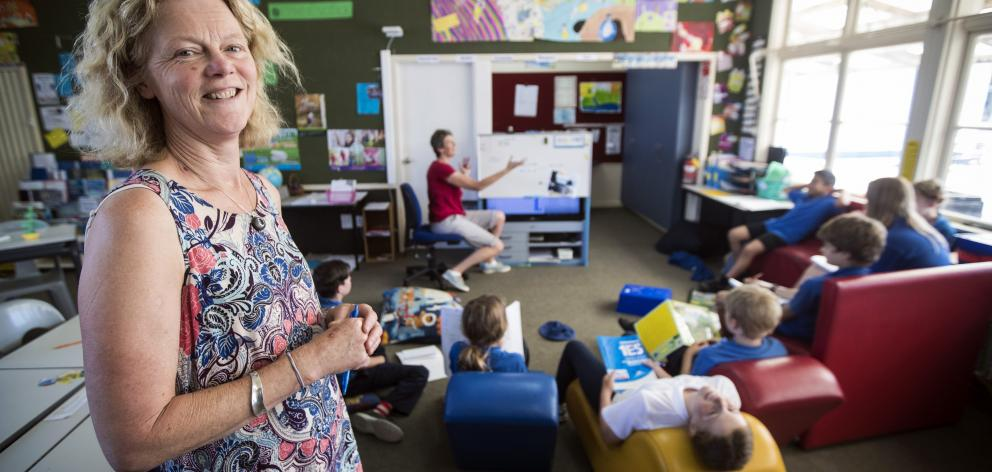 Haast Primary School principal Michelle Green also teaches the school's 13 pupils.