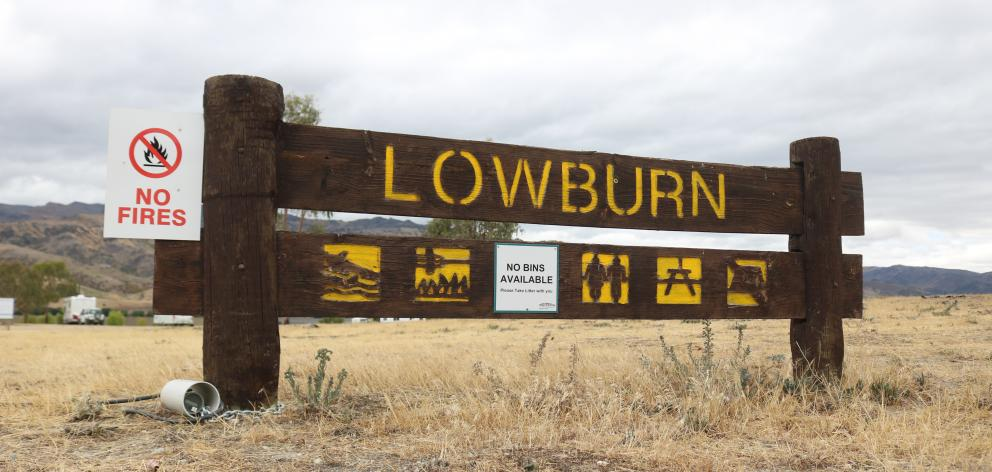 The symbols on the sign by the entrance to the Lowburn Boat Harbour are confusing. Photos: Tom...