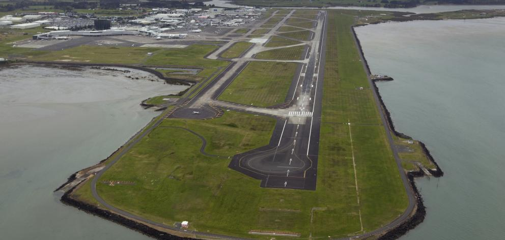 Aerial view of Auckland International Airport. Photo: NZ Herald
