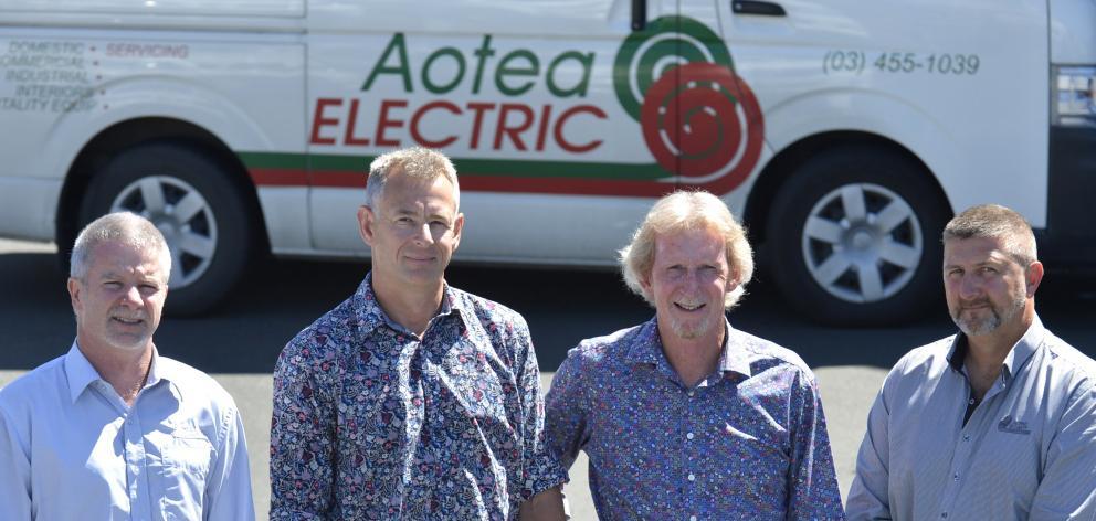 Aotea's management (from left) Aotea Group Holdings Ltd chief executive Paul Parsons, Aotea...
