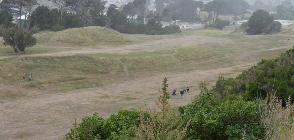 The Chisholm Links course - viewed from John Wilson Ocean Drive yesterday - is the venue for a...