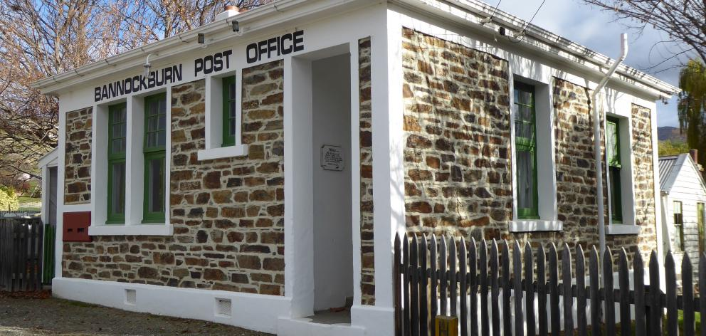 The old Bannockburn Post Office. Photo: Lynda Van Kempen