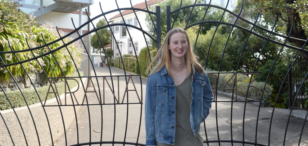 Laura Taylor, one of a growing number of Dunedin students opting to begin their university...