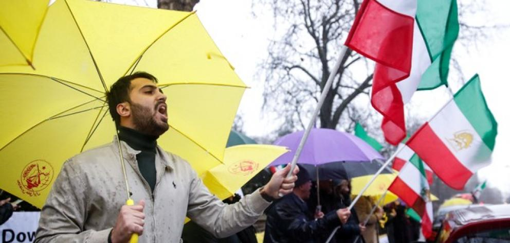 Unsigned statements on social media urged Iranians to continue to demonstrate in 50 towns and cities. Photo: Reuters