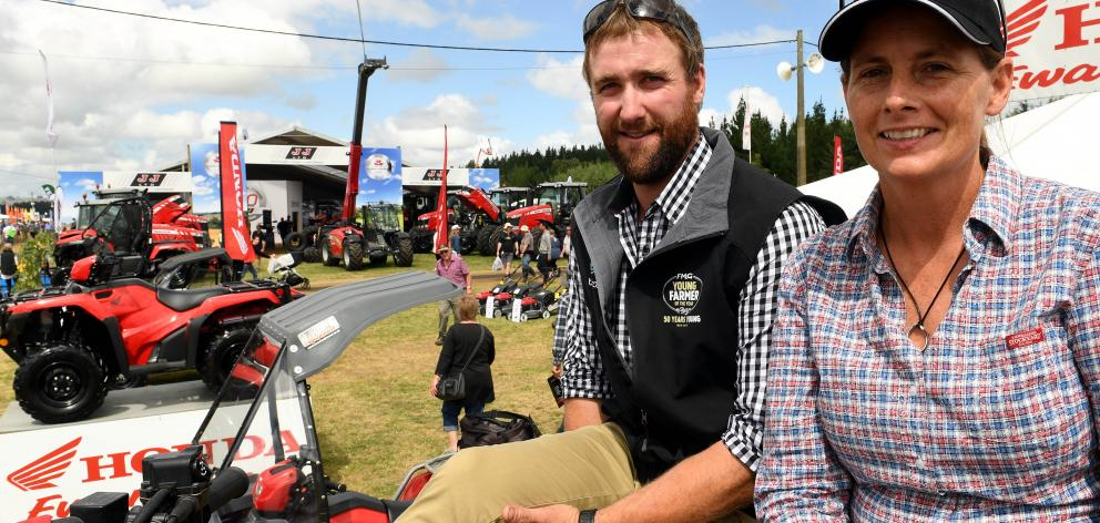 Katie Milne catches up with FMG Young Farmer of the Year Nigel Woodhead at the Southern Field...