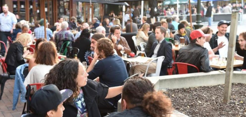 Bars will be allowed to open over the Easter weekend to allow for the crowds in town for the Ed...