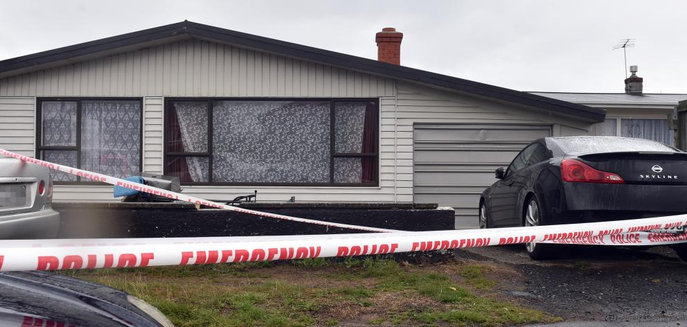 The house in Clermiston Ave where Amber-Rose Rush died. Photo: ODT