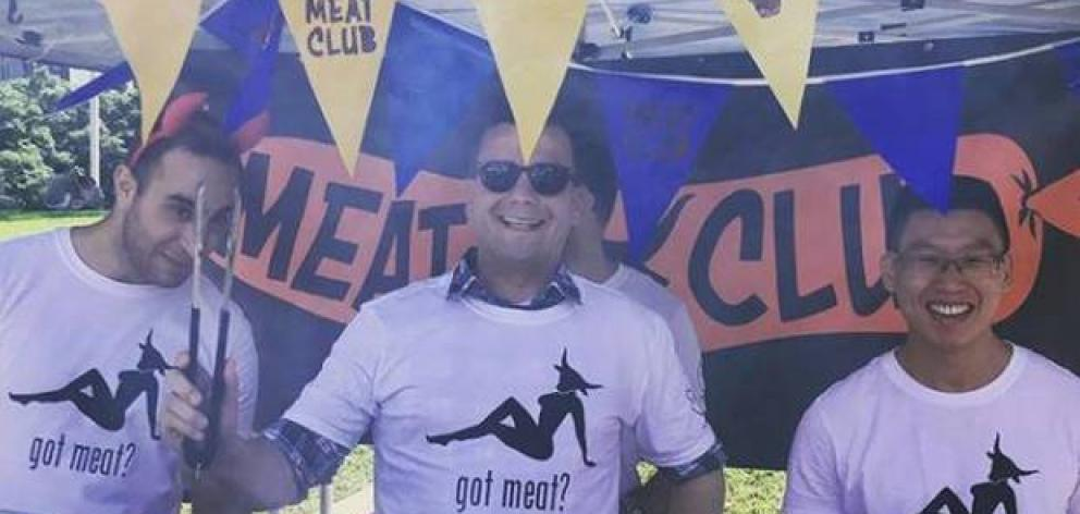David Seymour has defended wearing a T-shirt linking a sexualised woman to meat but says it might have been better to wear the male one.