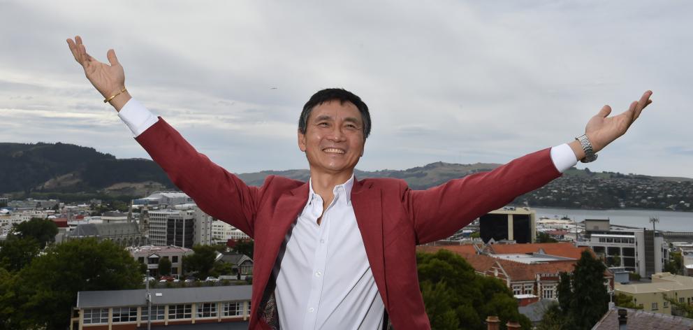 Li Cunxin, Queensland Ballet artistic director and writer of Mao's Last Dancer,  was in Dunedin...