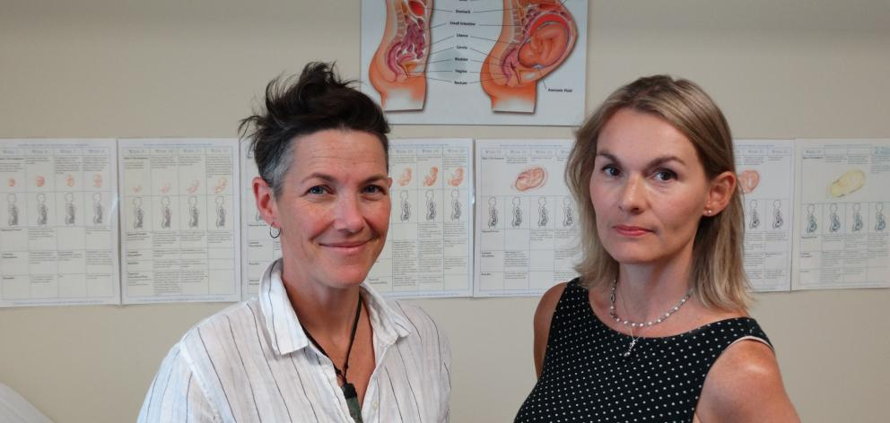 Wanaka will be down to just one full-time midwife in Deb Harvey (right) once Morgan Weathington ...