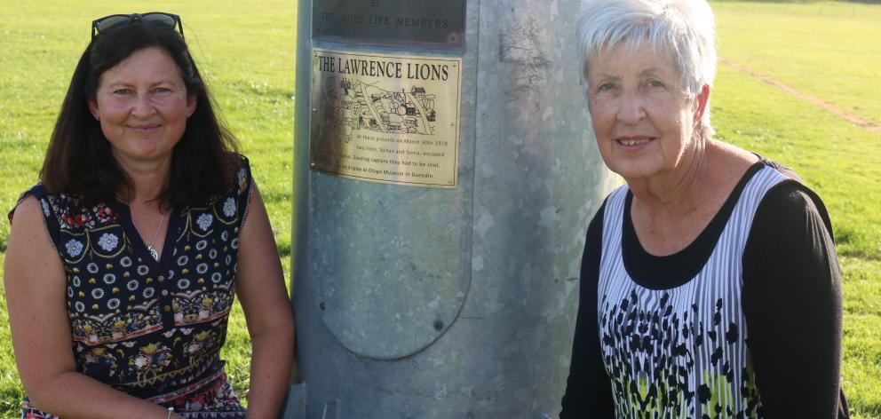 Plaque project leader Clare Blackmore and 1978 circus spectator Eileen Grant look back on the...