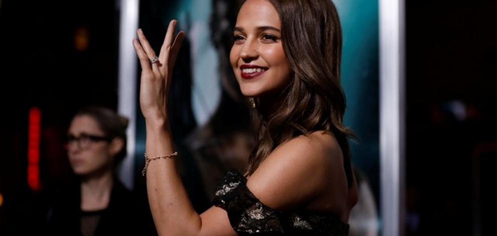Alicia Vikander plays the eponymous heroine Lara Croft in 'Tomb Raider'. Photo: Reuters