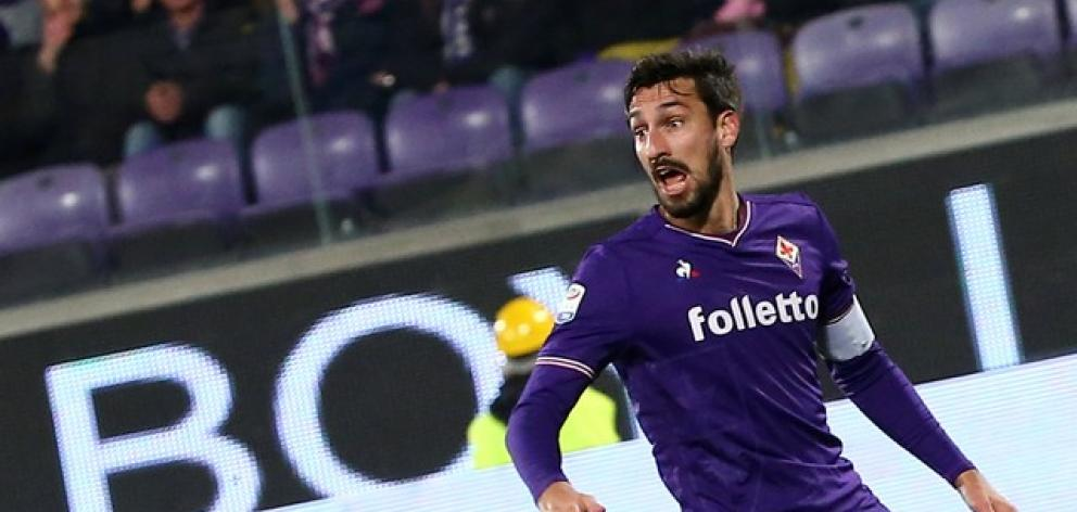Astori, in his 10th Serie A season, was found dead in his hotel room in Udine. Photo: Reuters