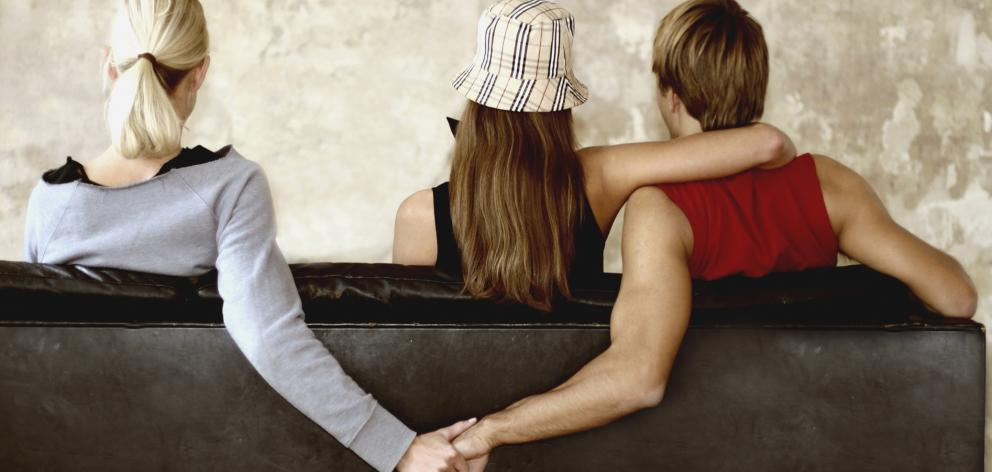 More than one in four Kiwis have admitted to being unfaithful, with those in the student city of Dunedin found to be more likely to cheat than the rest of the country. Photo: Getty Images