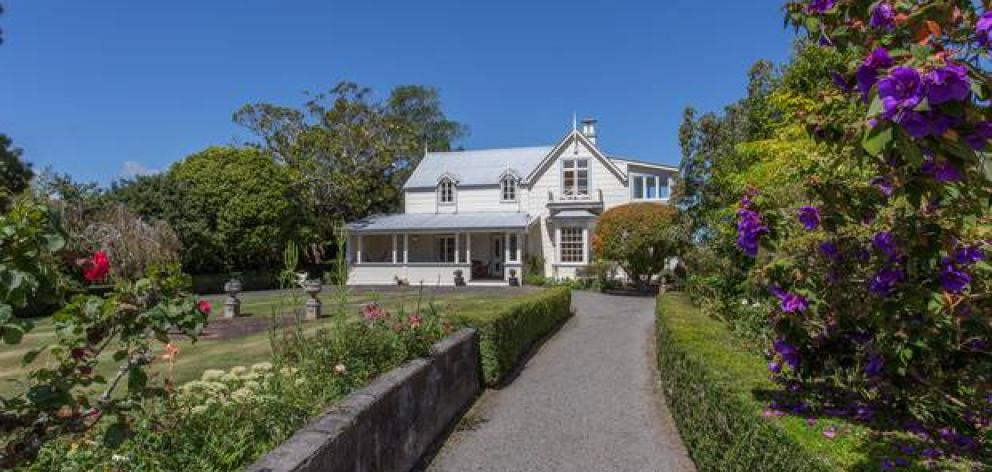 Whanganui heritage home Fernielea meets the market for just the third time since being built in 1867. Photo: NZ Herald