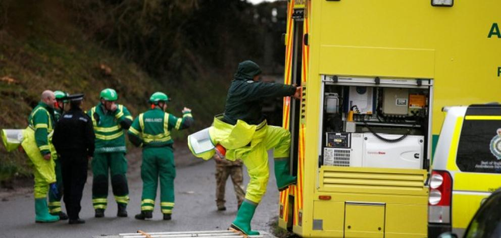 """Theresa May said it was """"highly likely"""" that Moscow was responsible for the poisoning in the English city of Salisbury of a Russian former double agent with Novichok. Photo: Reuters"""