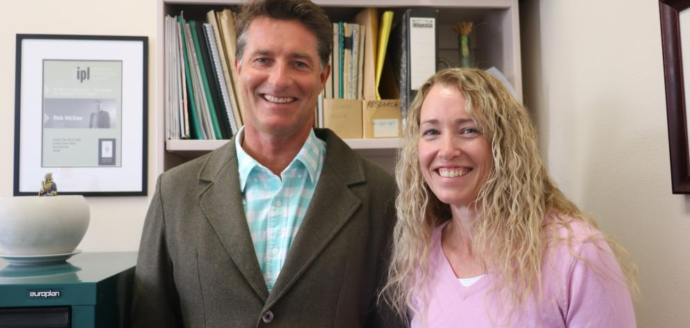 The new co-directors of University of Otago Cancer Society social and behavioural research unit,...