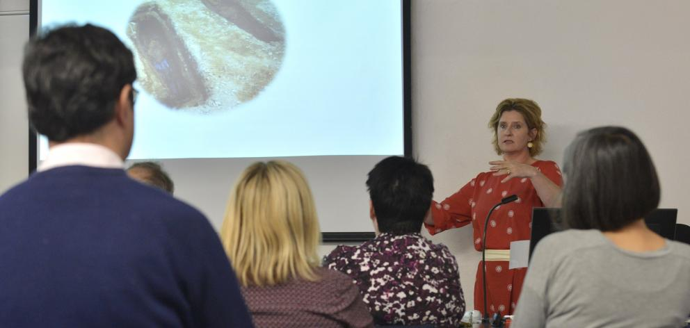 Prof Hallie Buckley, of the University of Otago anatomy department, gives a public talk about...
