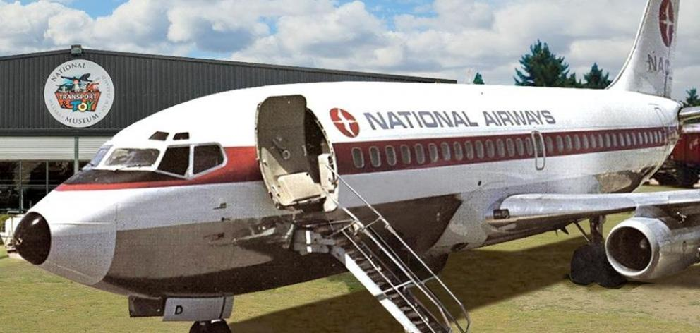 How the NAC Boeing 737 could look like once refurbished.