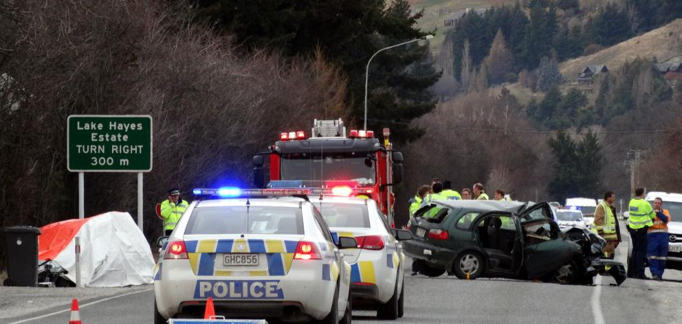 Police were called to 688 vehicle collisions in 2017 across the Otago Lakes Central police area,...