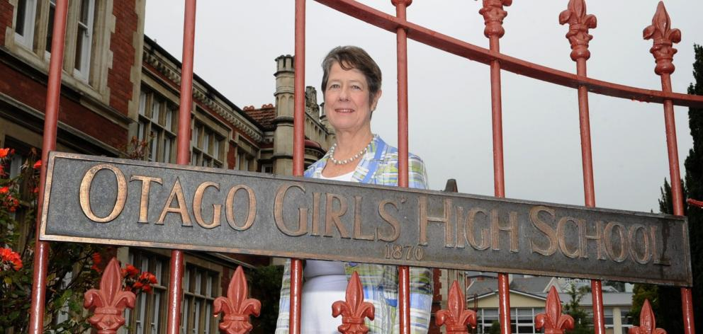 Former Otago Girls High School head girl Dame Judith Mayhew Jonas, the first woman to lead the City of London, chair the Royal Opera House and become provost of Kings College Cambridge. Photo: ODT file