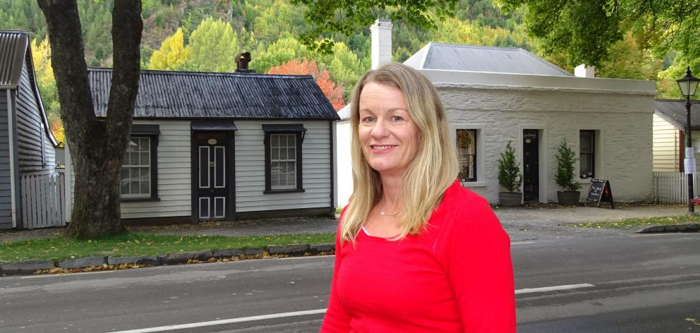 Arrowtown Autumn Festival co-ordinator Carole Watts. PHOTO: TRACEY ROXBURGH
