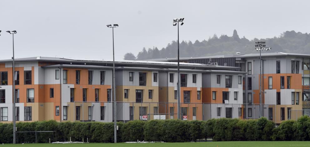 The Otago Polytechnic Student Village, Te Pa Tauira. Photos: Peter McIntosh