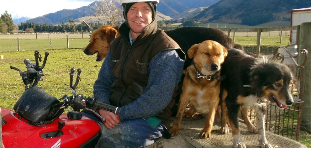 Phill Hunt is standing down as Federated Farmers Otago president next month. Photo: ODT