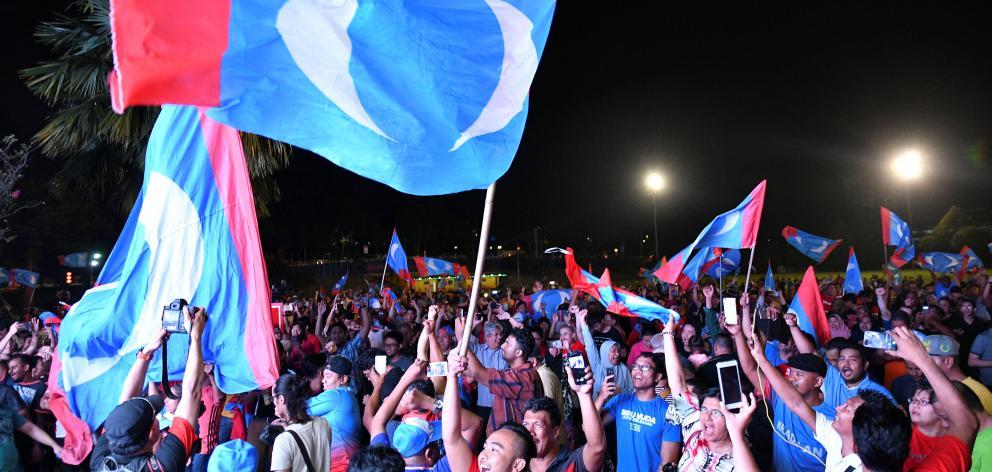 Image result for Mahathir wins