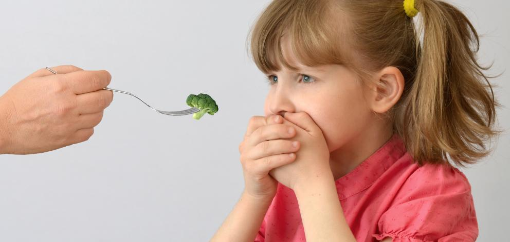 Children sensitive to a bitter compound in vegetables such as broccoli are less likely to eat...