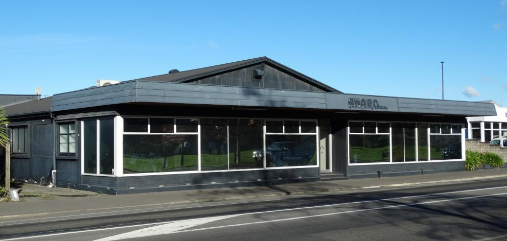 The future home of the North Otago hospice hub in Thames Highway. PHOTO: DANIEL BIRCHFIELD