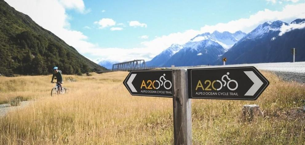 Part Of The Alps 2 Ocean Cycle Trail Photo ODT File